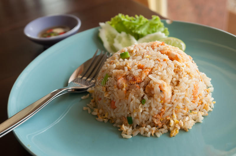Download Fried rice with shrimp. stock image. Image of dish, gourmet - 30963867