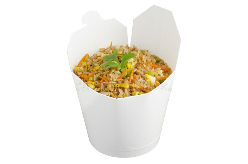 Download Fried Rice Take Out Stock Photo - Image: 25440540