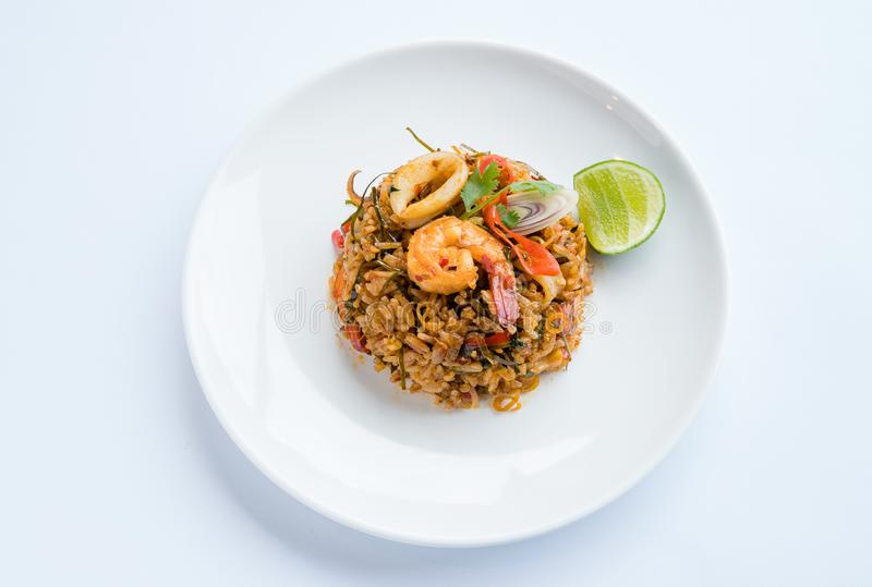 Fried Rice Tom Yum lizenzfreies stockbild