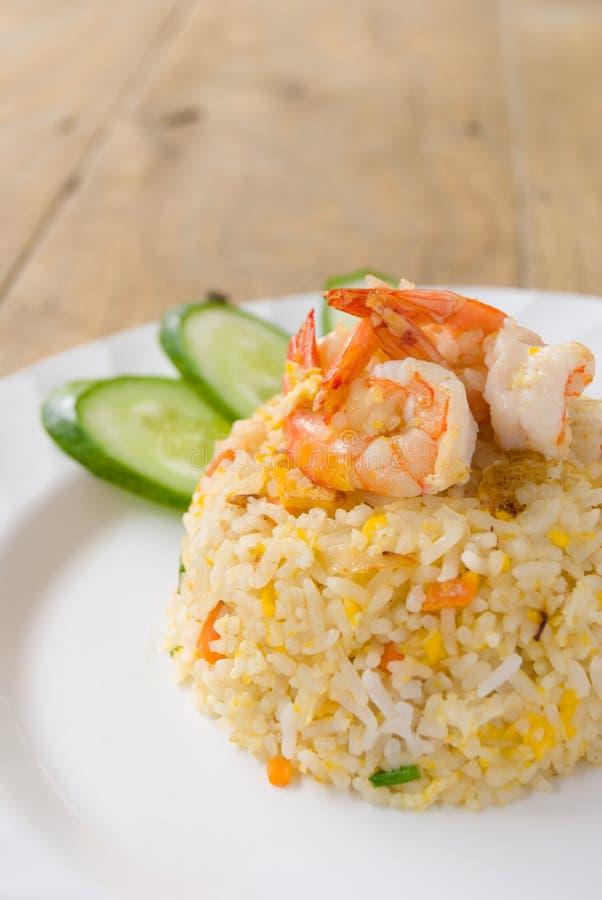 Free Fried Rice With Shrimp Stock Photo - 38770420