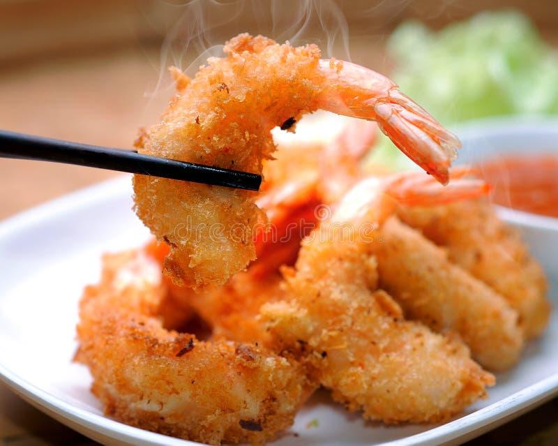 Fried Shrimp foto de stock royalty free