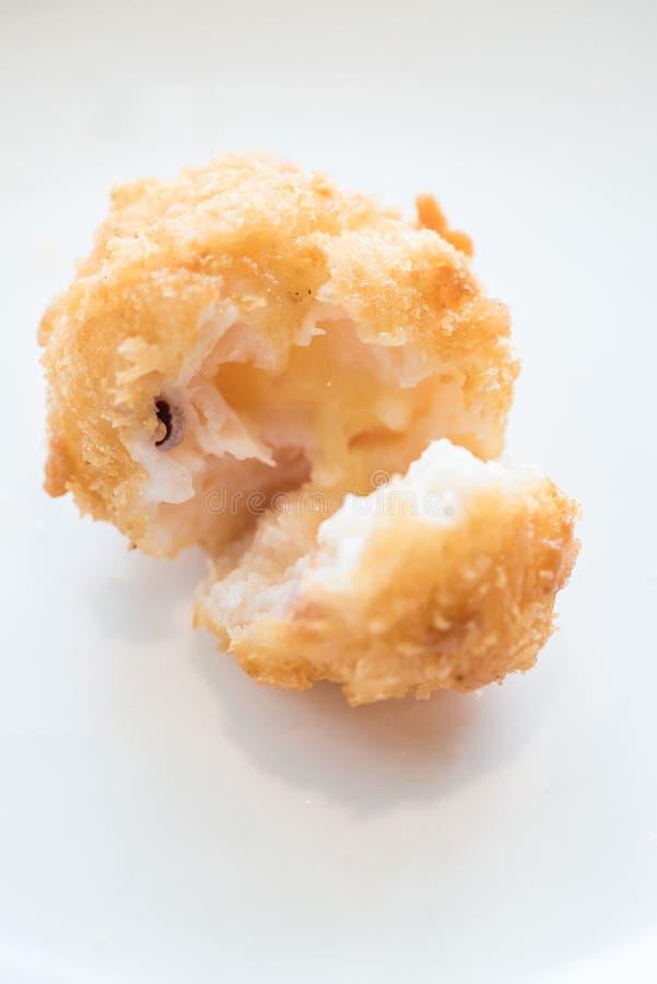 Fried Shrimp ball. Chinese dim sum Fried Shrimp ball - Chinese groumet cuisine stock images