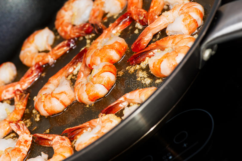 Download Fried shrimp cooking stock photo. Image of shrimp, cuisine - 29226664