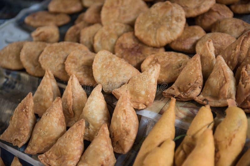 Fried Snacks à Jaipur photos libres de droits