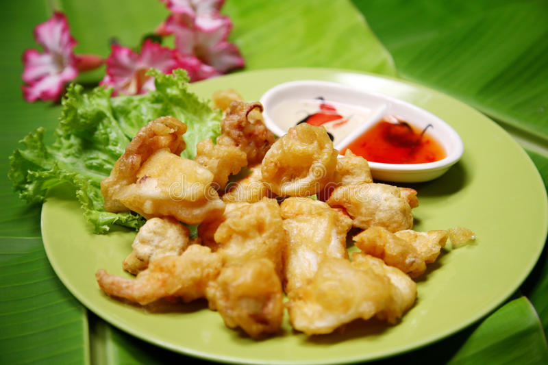 Download Fried Squid Royalty Free Stock Photo - Image: 22329225
