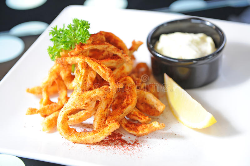Download Fried Squid Royalty Free Stock Images - Image: 22896229