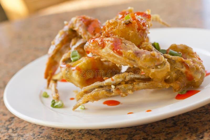 Fried Thai Crab Legs royalty free stock photos