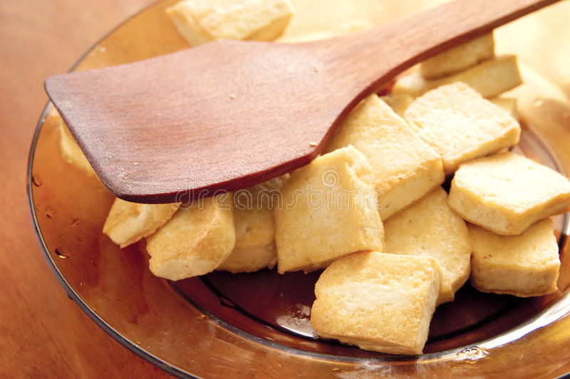 Download Fried Tofu stock image. Image of meal, curd, tofu, food - 1462013