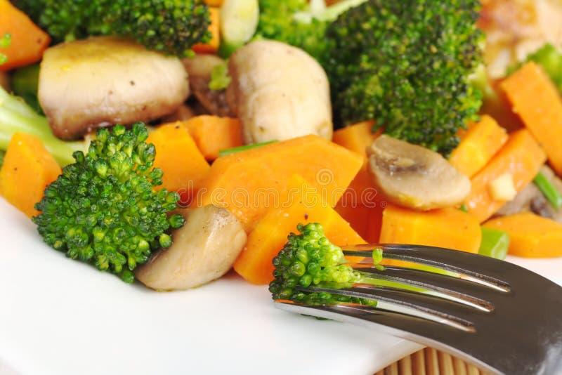 Download Fried Vegetables stock photo. Image of spring, stir, dish - 17116166