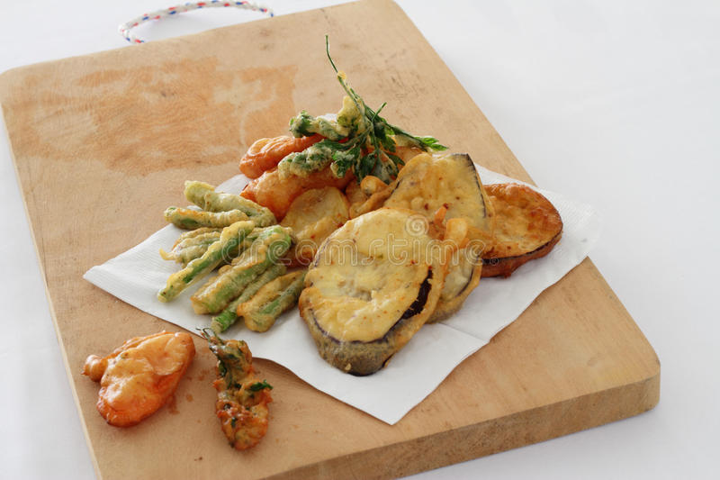 Download Fried Vegetables stock photo. Image of italian, board - 19859290