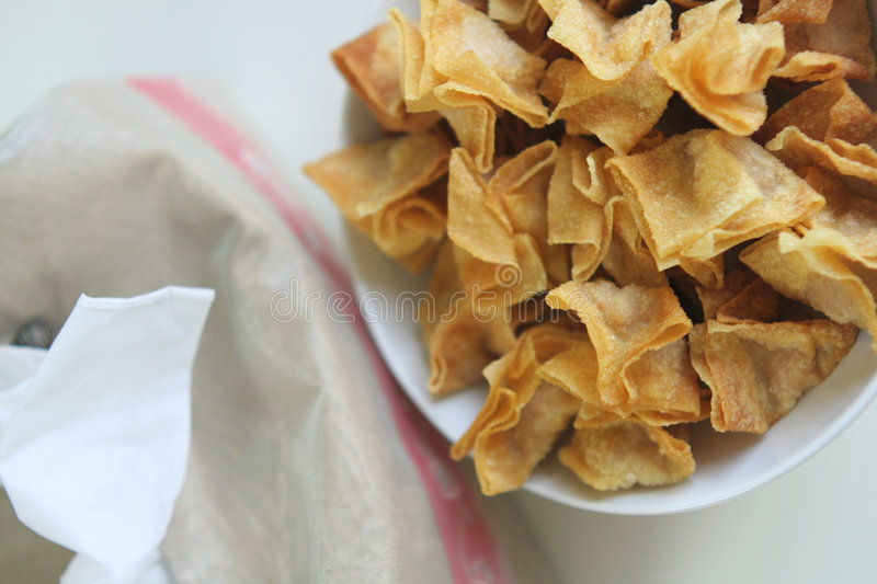 Download Fried wantan stock image. Image of fried, stuffed, chinese - 2302377