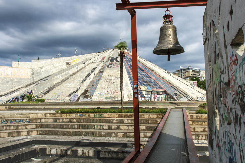 Frieden Bell stockbild