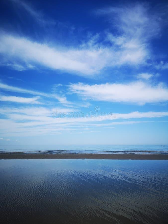 Frieden an der Küste lizenzfreie stockfotografie