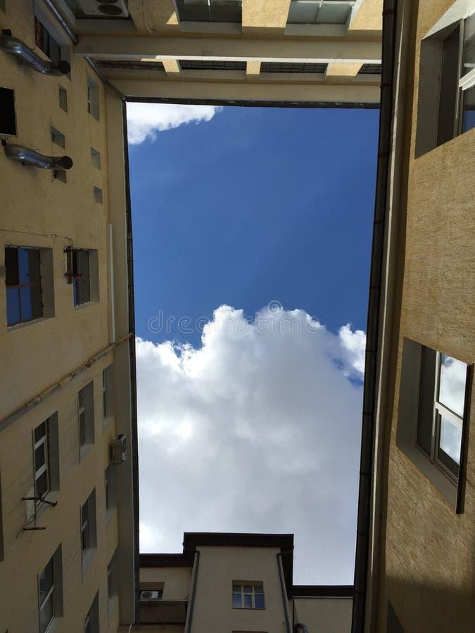 Frieden des Himmels stockbild