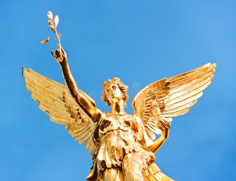 Friedensengel - Monaco di Baviera fotografia stock libera da diritti