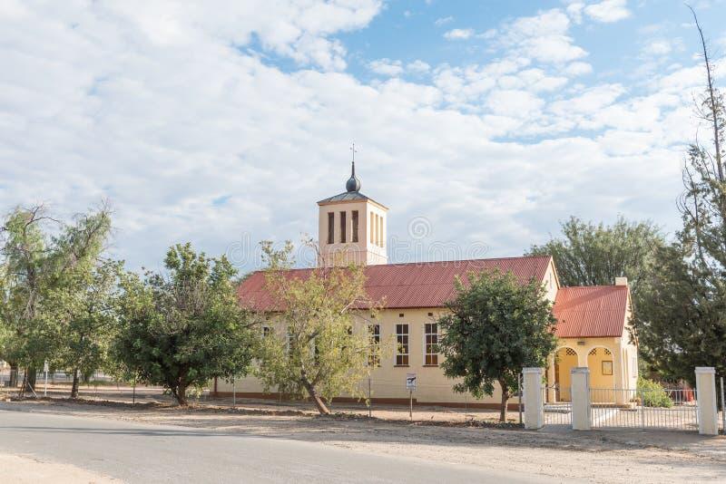 Friedenskirche de la iglesia luterana alemana en Okahandja fotografía de archivo libre de regalías