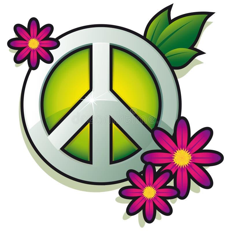 Friedenszeichen lizenzfreie abbildung
