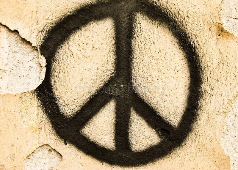 Friedenszeichen lizenzfreie stockfotografie