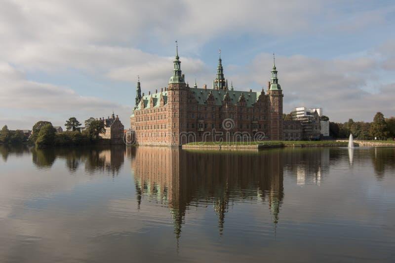 Friederiksborg castle stock photo