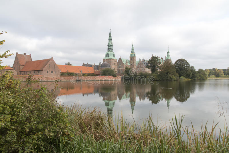 Friederiksborg castle royalty free stock photos