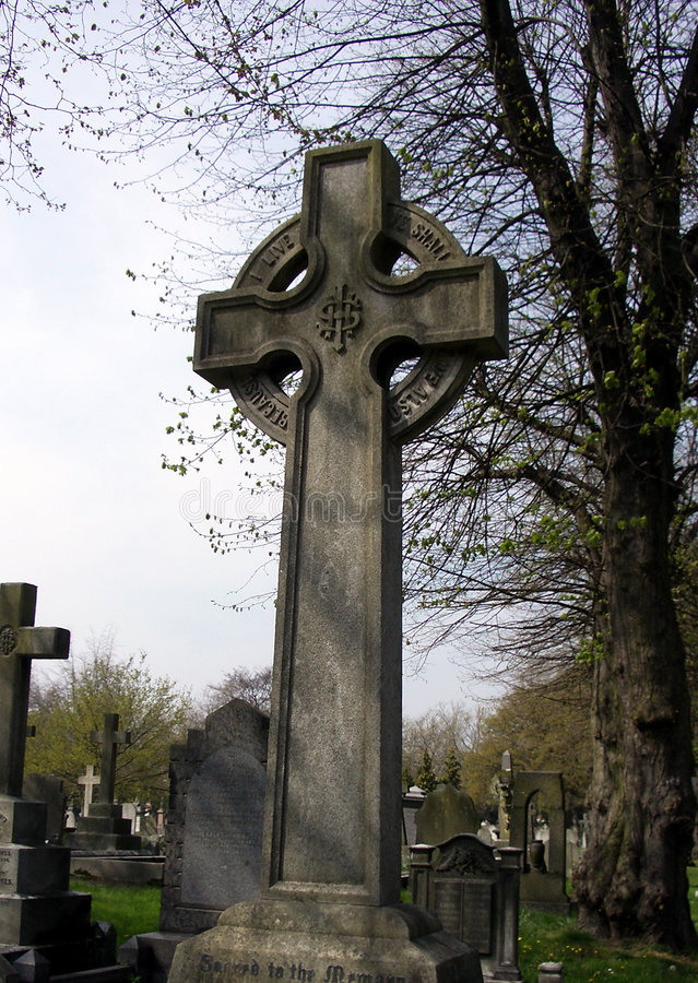 Friedhof 35 stockfoto