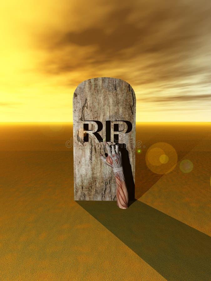 Friedhof-Hand 7 Lizenzfreie Stockfotos