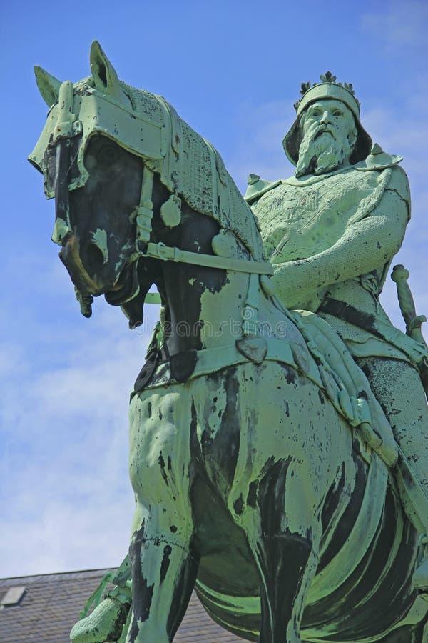 Friedrich Barbarossa royaltyfria foton