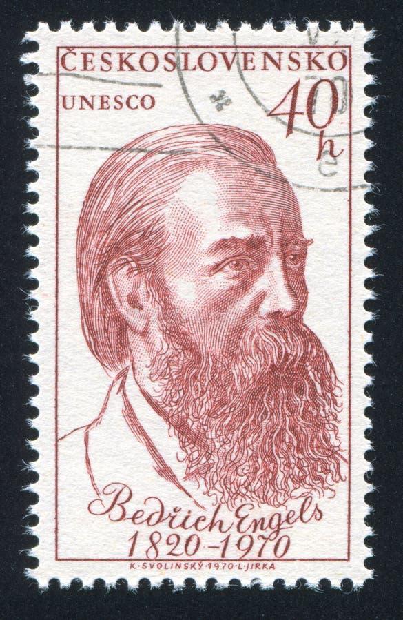 Friedrich Engels fotografering för bildbyråer