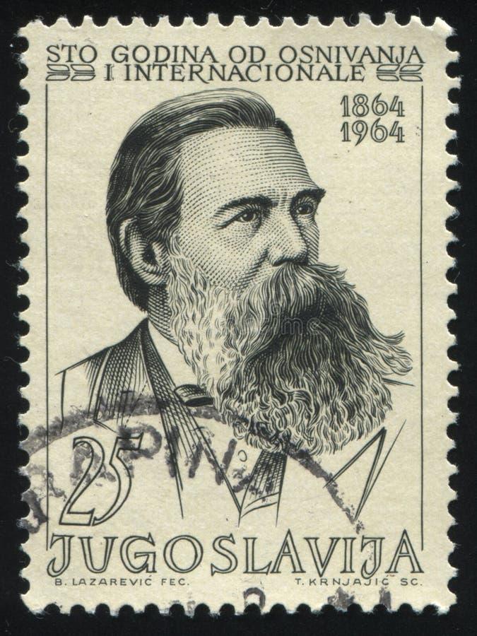 Friedrich Engels arkivbilder