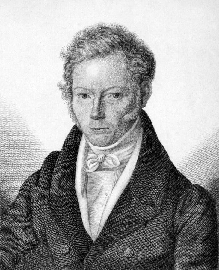 Friedrich Gottlieb Welcker royalty-vrije stock foto