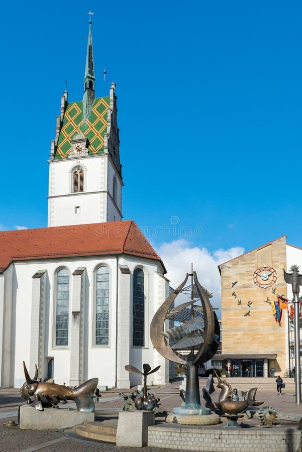 friedrichshafen德国 库存照片