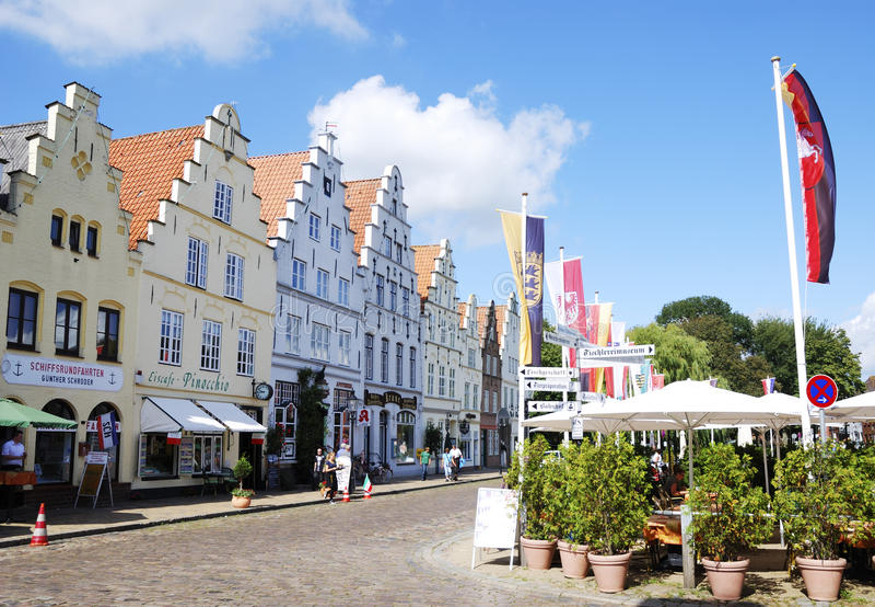 Friedrichstadt stockbild