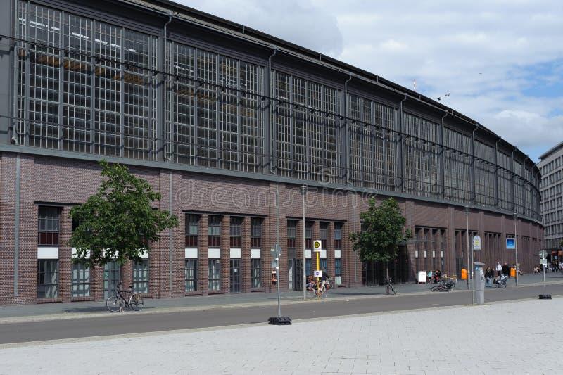 Friedrichstrasse royaltyfria bilder