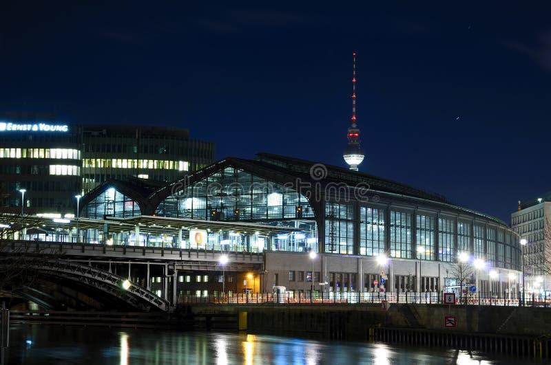 Friedrichstrasse Berlin de Bahnhof photos stock