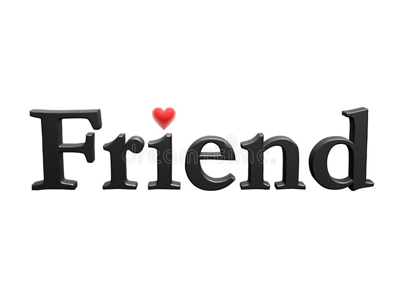 Download Friend With Love Heart Stock Photography - Image: 15040552