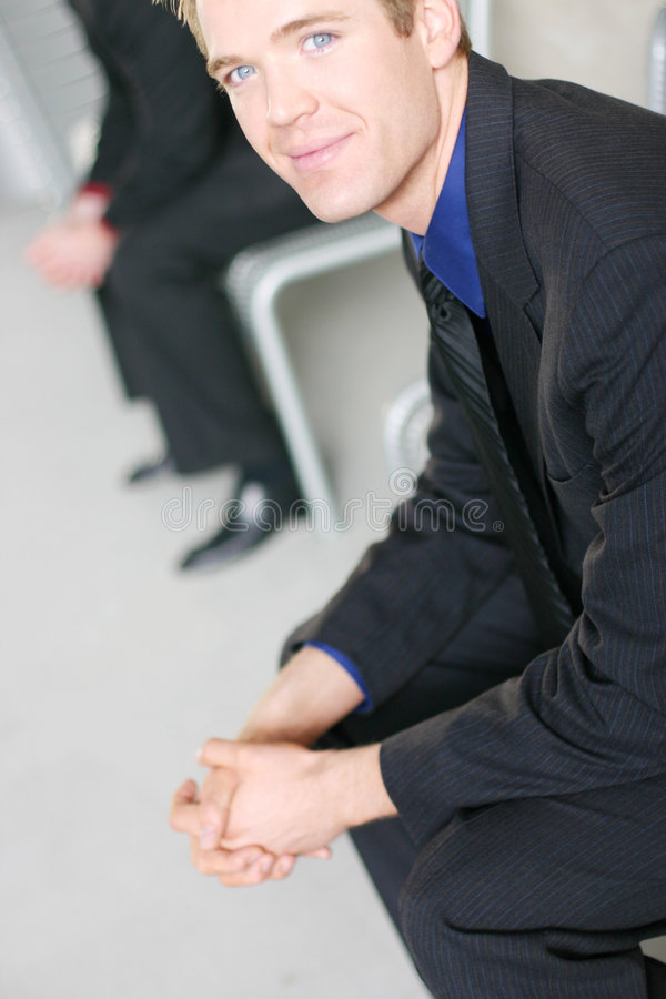 Friendly business stock photo