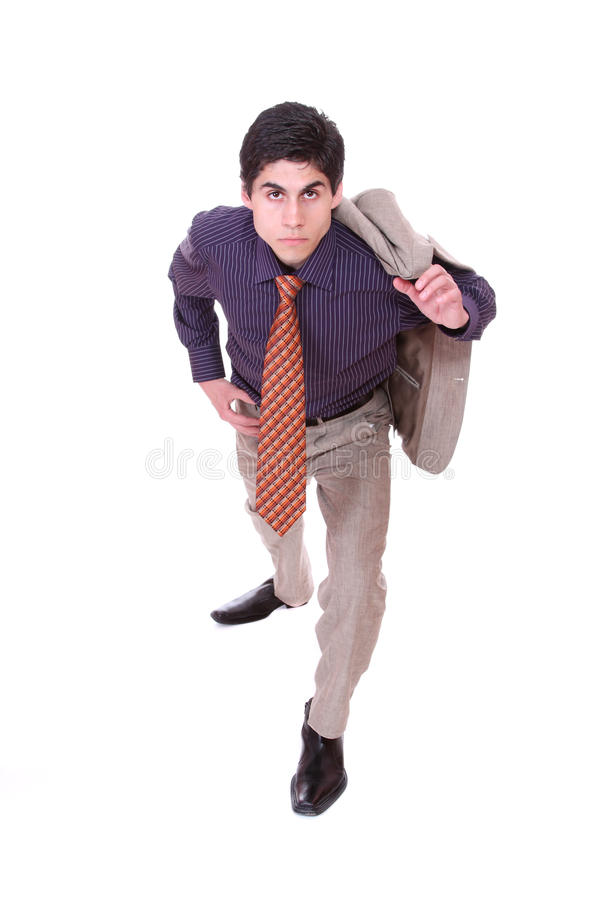 Friendly Business Man Royalty Free Stock Image