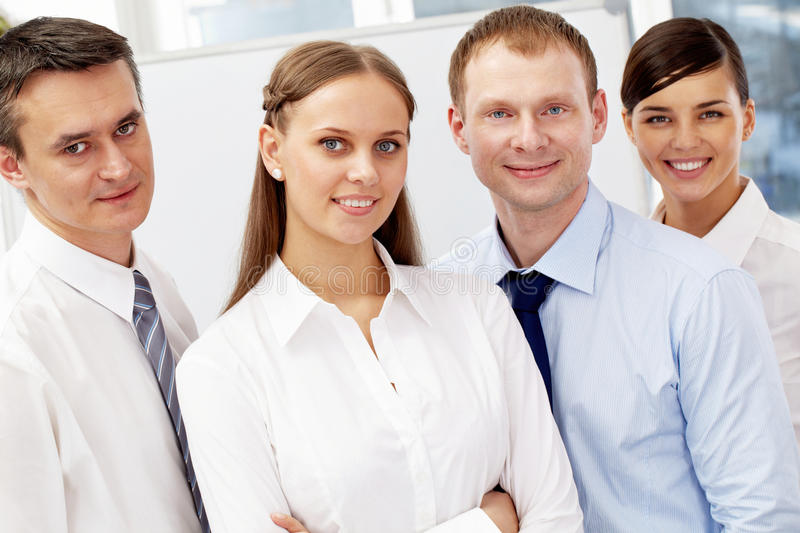 Friendly Business Team Stock Photography