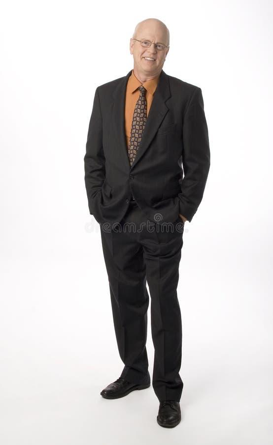 Friendly Businessman stock photo