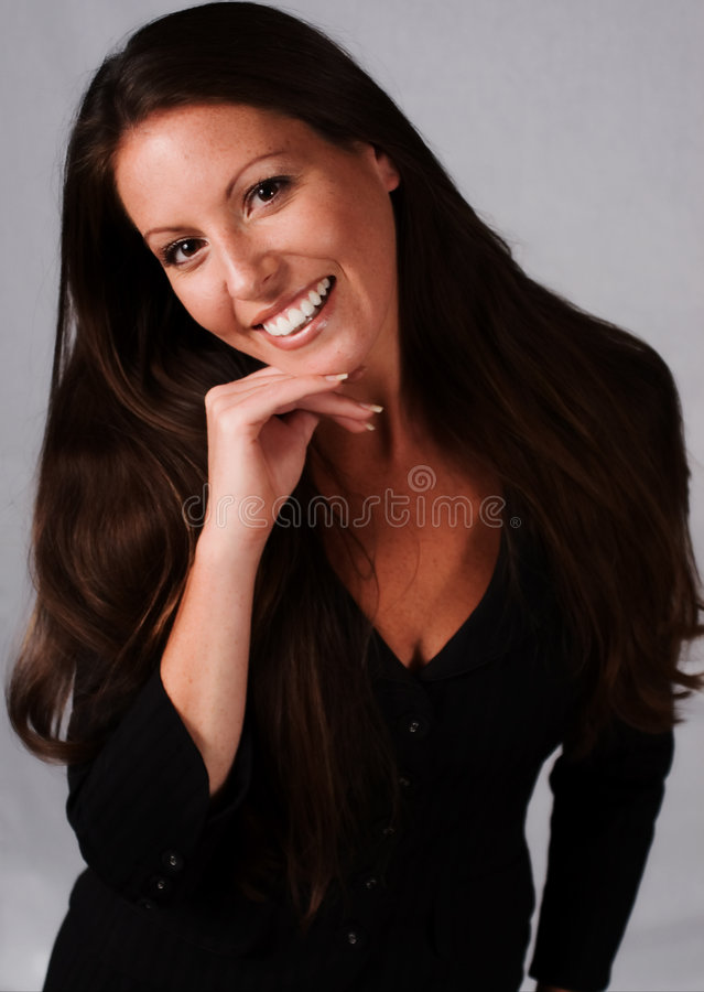 Download Friendly Businesswoman stock photo. Image of business - 1747810