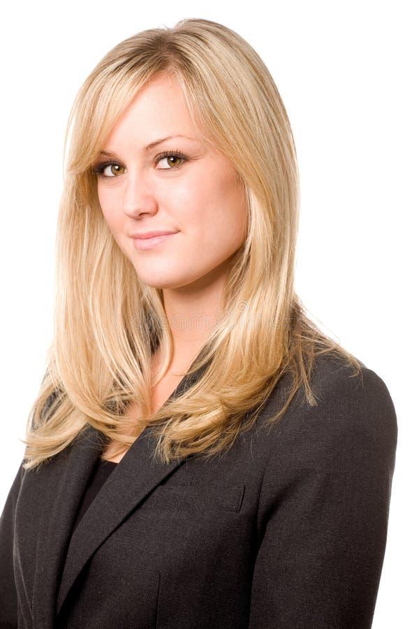Friendly Businesswoman royalty free stock photo