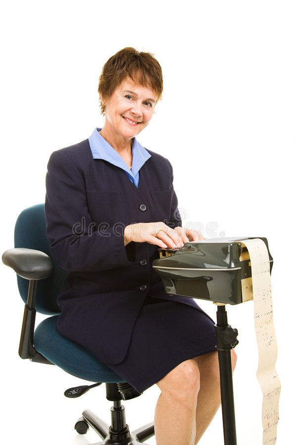 Download Friendly Court Reporter stock photo. Image of person, jacket - 7683852
