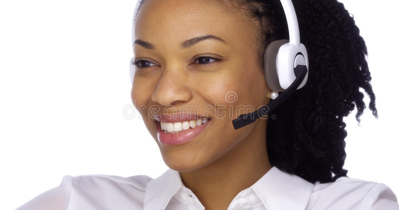 Friendly Customer Service stock images