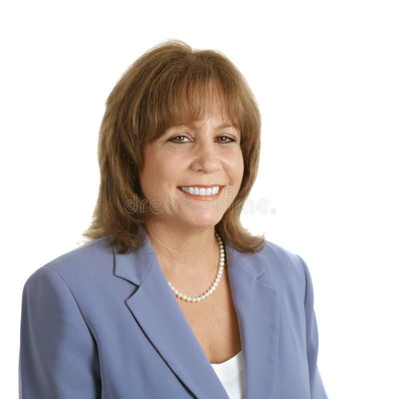 Friendly Female Executive royalty free stock image