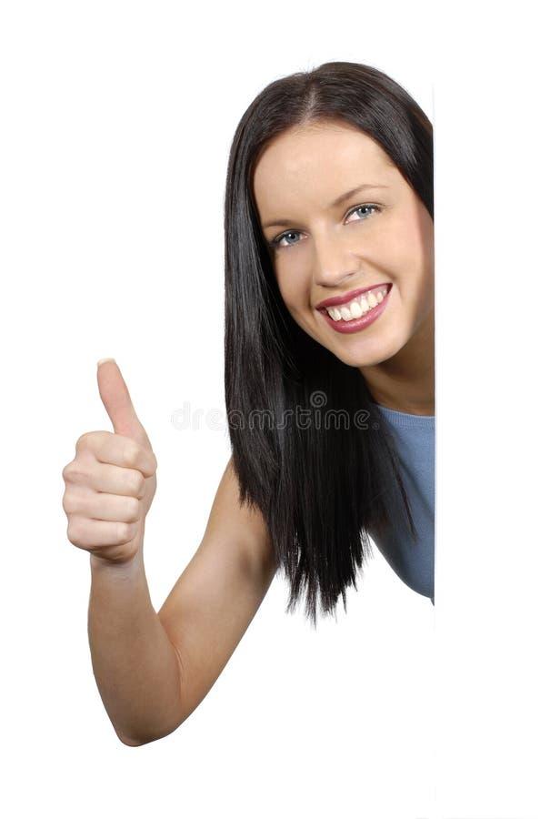 thumbs plain girl