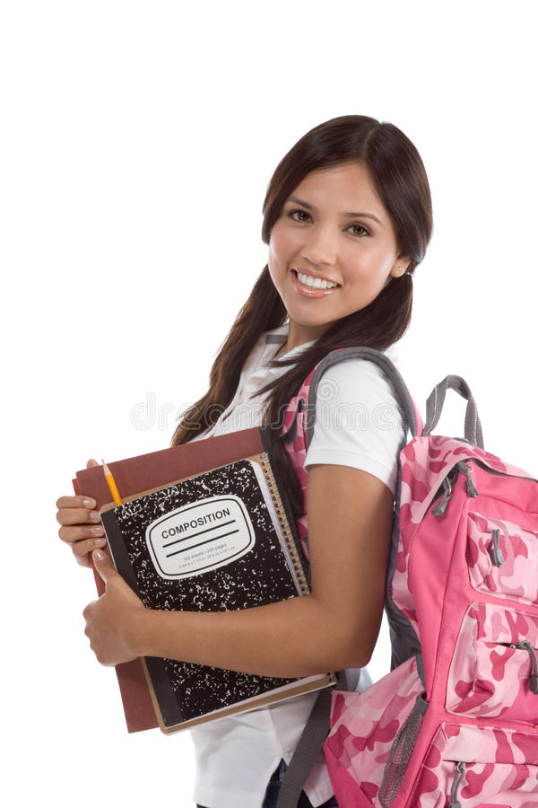 Download Friendly Hispanic College Student Stock Photo - Image: 17193970