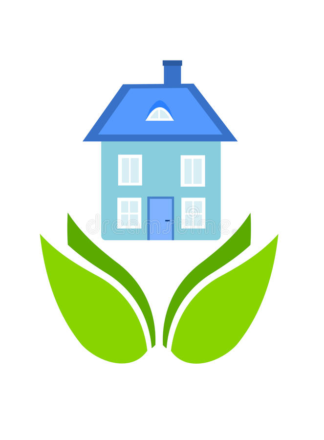 Download Friendly house stock vector. Image of architecture, plant - 17907447