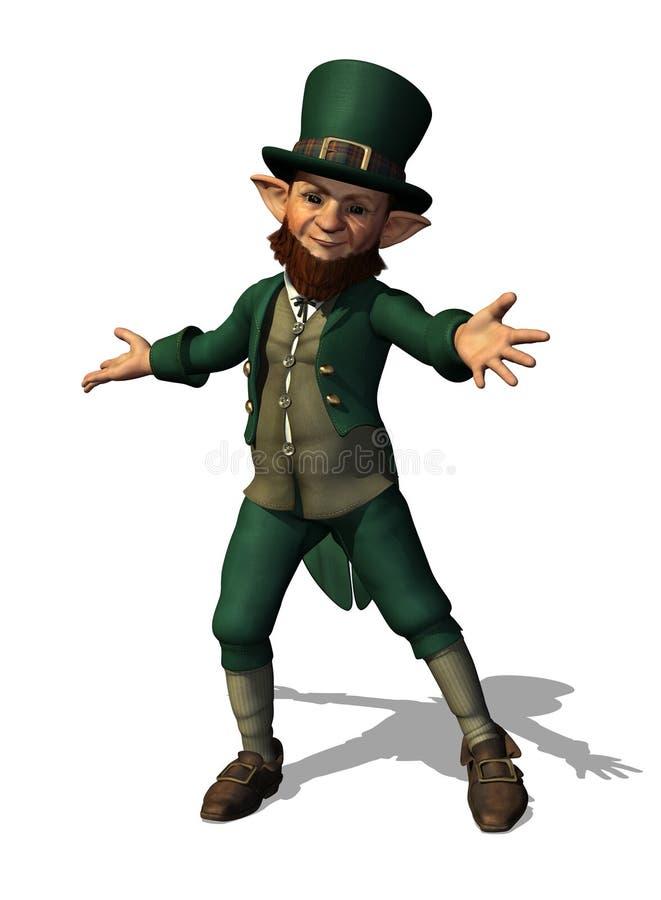 Friendly Leprechaun Welomes You