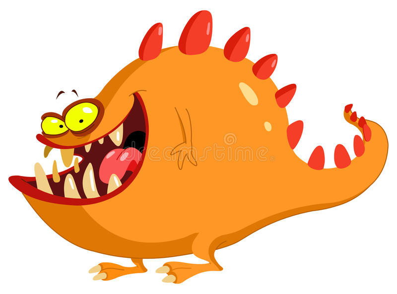 Friendly Monster Stock Image
