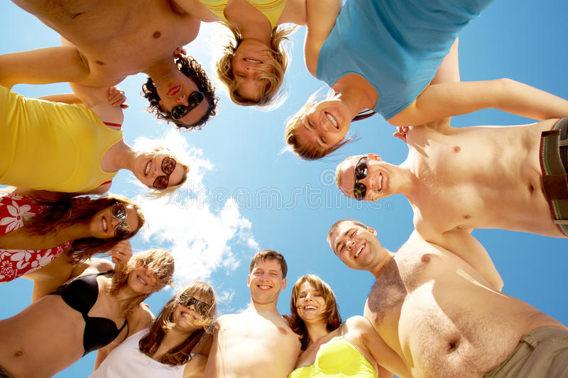 Friendly people stock images